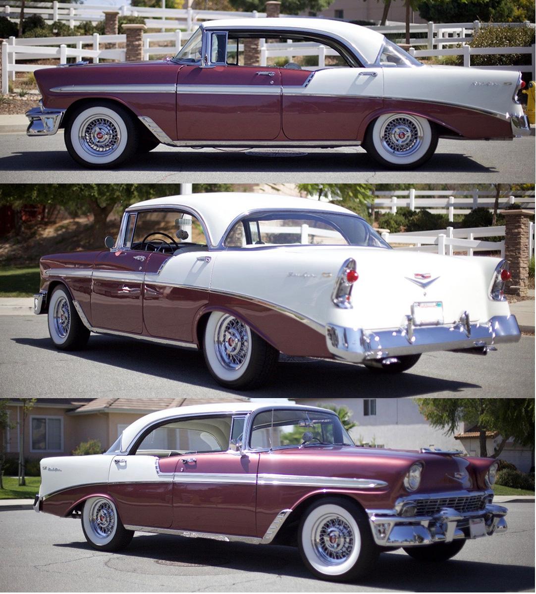 Chevrolet Customers Car Show Truespoke Wire Wheels 1957 Chevy Bel Air Convertible Lowrider Fleetline Owner Mr John Varela 56 Spoke