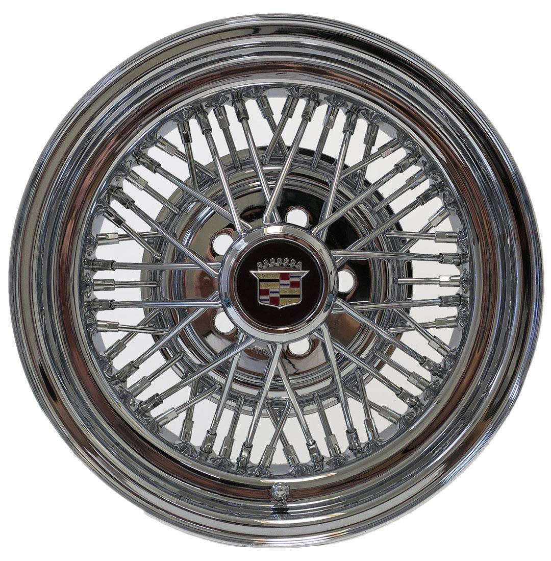 wire cadillac appliance wheels wheel truespoke plating spoke classic chrome rim hobbycar per four
