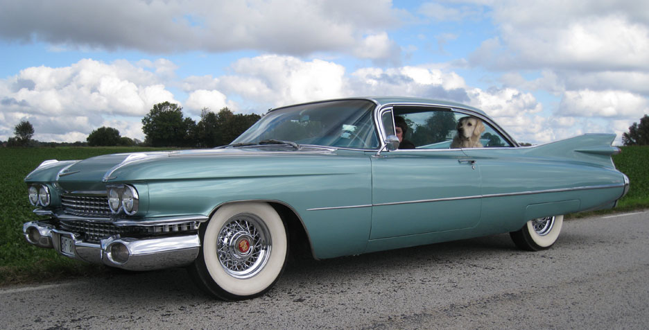 Cadillac Wire Wheels And Cadillac Whitewall Tires