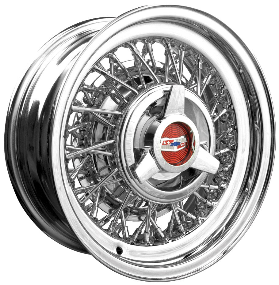 Chevrolet and GM automobile Wire Wheels