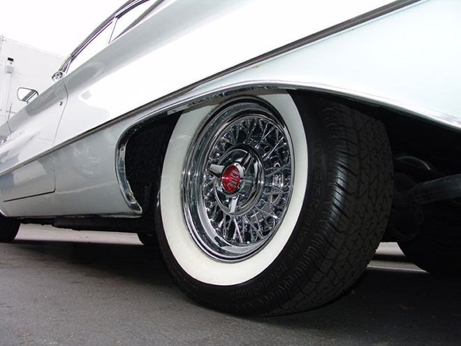 Where To Put New Tires On Car