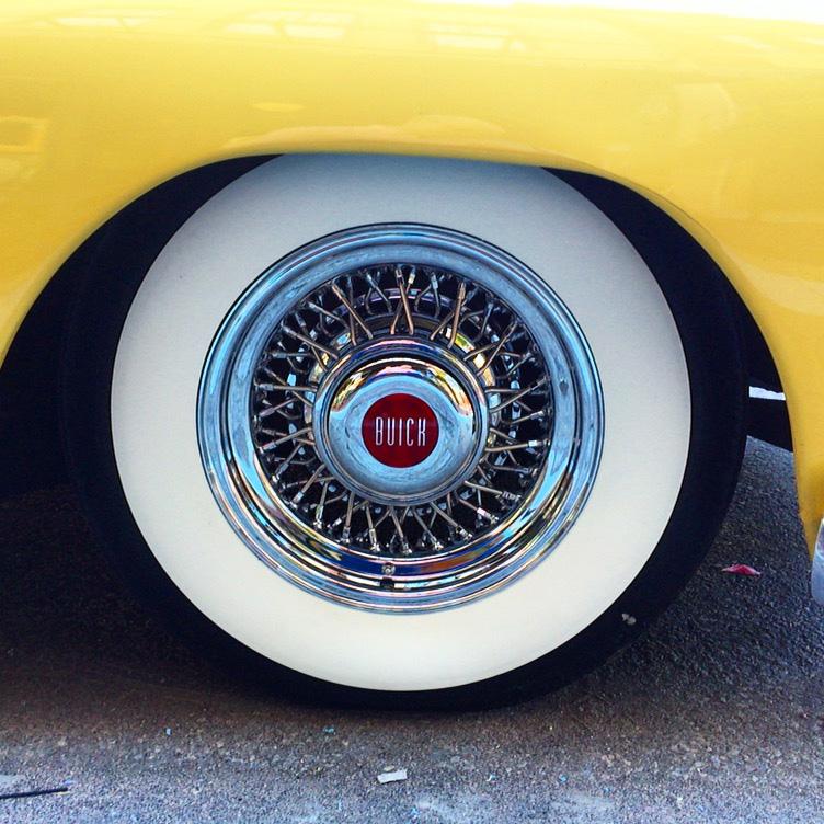 GM Customer\'s Car Show Buick | Truespoke Wire Wheels