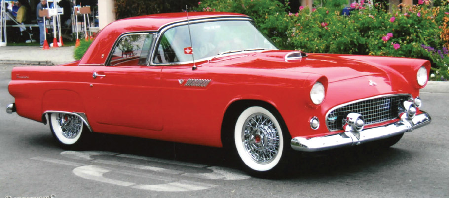 Thunderbird Wire Wheels
