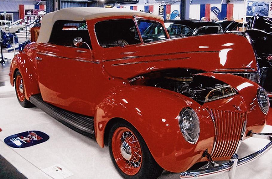 Hot Rod And Custom Car Show Truespoke Wire Wheels - Show wheels on your car