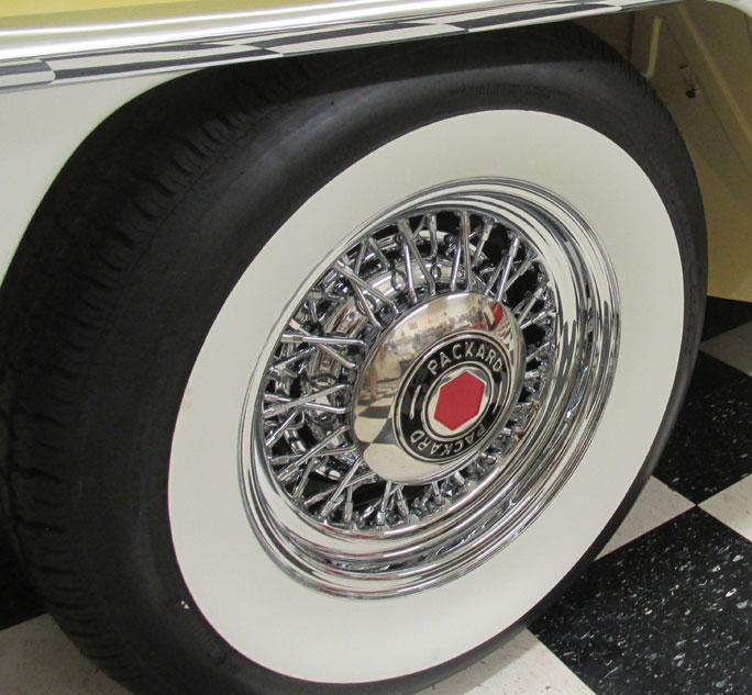 Packard Wire Wheels Truespoke