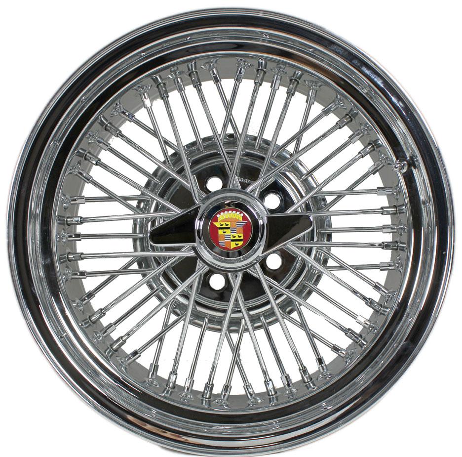 Cadillac Fleetwood Brougham 50 Wire Wheels
