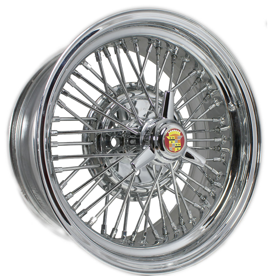Cadillac Brougham 50 Wire Wheels | Vogue Tires | Truespoke