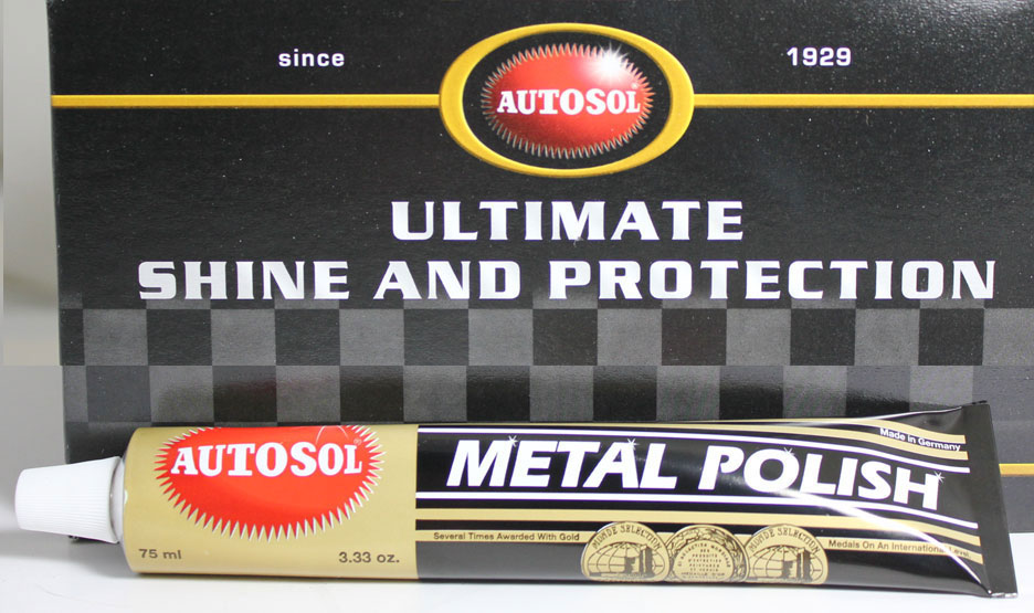 Wire wheel metal polish.