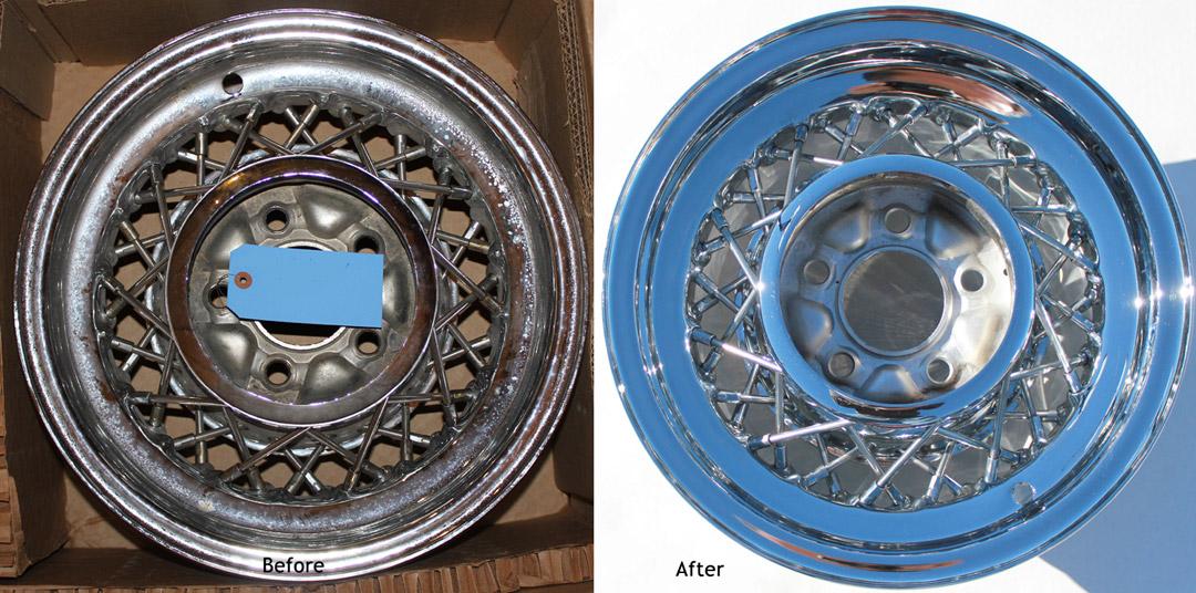 Wire Wheel Restoration