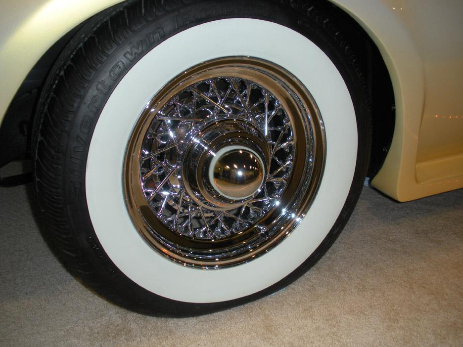 Replica Kit Cars Neo Classic Car Show Truespoke Wire Wheels