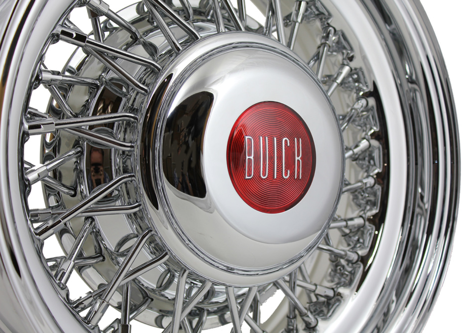 Buick Wire Wheels | Truespoke Chrome Wire Wheels