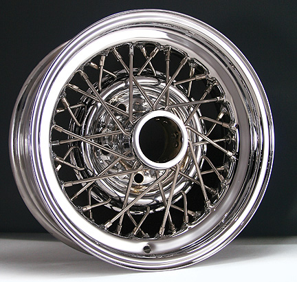 Buick Skylark Wire Wheel Restoration.
