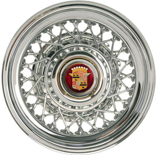 Cadillac Seville chrome wire wheel.