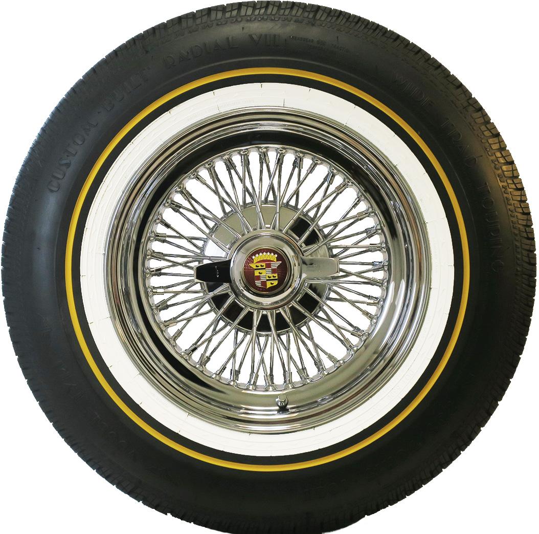 P235 70R15 Tires >> DeVille 72 Spoke Wire Wheels | Truespoke Cadillac Wire Wheels