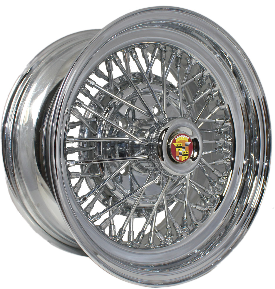 Cadillac Fleetwood Brougham 50 Wire Wheels | Vogue Tires | Truespoke