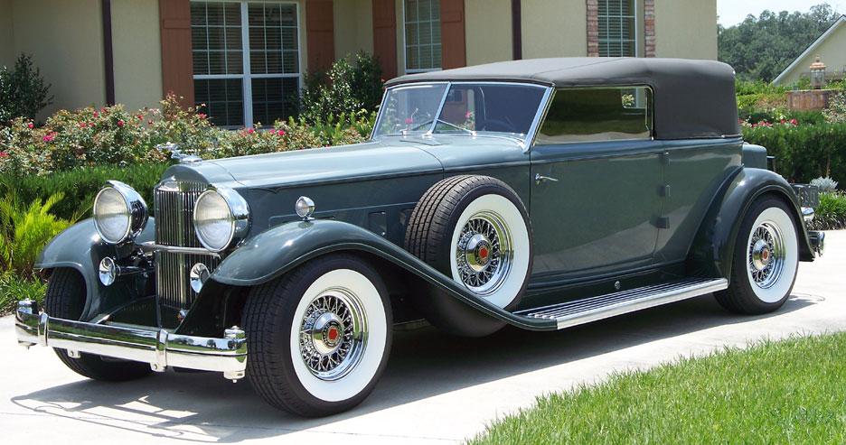 Packard Wire Wheels