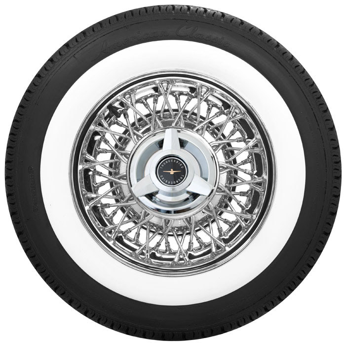 Discount Tire Warranty >> Thunderbird Wire Wheels | Truespoke | Chrome TBird Wire Rims