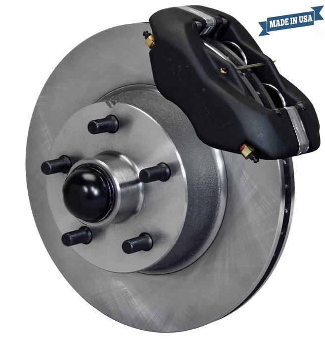 Disc brake conversion kit for Thunderbird.