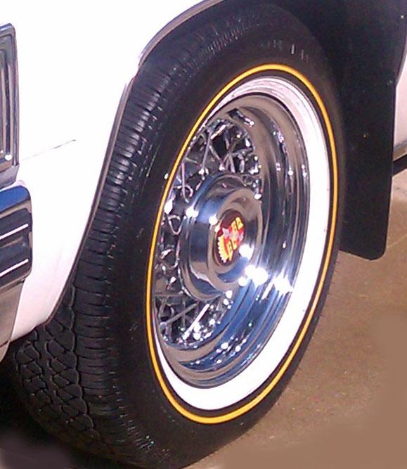 Cadillac White Wall Tires
