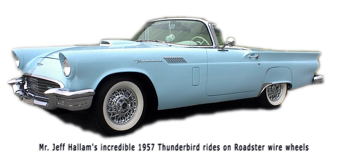 Thunderbird Wire Wheels | Truespoke | Chrome TBird Wire Rims